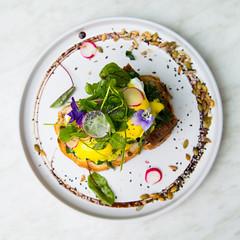 _22A8147 (Jono Cowan) Tags: cafe food melbourne coffee brunch yolk egg breakfast latte