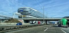 Frankfurt The Squaire (wernerfunk) Tags: autobahn architektur road airport flughafen hessen