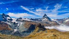 Matterhorn (appberg) Tags: matterhorn zermatt gornergrat alps mountain switzerland europe landscape swiss clouds nature landschaft wolken glacier gletscher montcervin