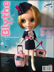 "April 2019 BLYTHE Gazette Cover Girl: Adele Twigs (Nicky Lad) fliegt hoch in 'Feel The Sky' Stock Couture ✈️ • <a style = ""Schriftgröße: 0.8em;"" href = ""http://www.flickr.com/photos/76984707@N02/46725464704/"" target = ""_ blank""> Auf Flickr anzeigen </a>"