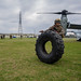 Marines conduct helicopter support team training at Camp Foster, Okinawa, Japan