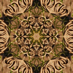 Kaleido Abstract 1992 (Lostash) Tags: art photography edited symmetry shapes patterns textures reflection kaleidoscope