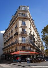 Boulevard Saint-Germain (Jack Landau) Tags: paris france architecture building city urban europe eu blue sky history heritage old canon 5d jack landau