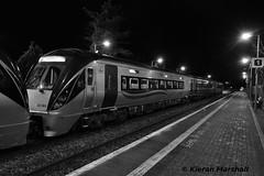 22063 at Portlaoise, 30/1/19 (hurricanemk1c) Tags: railways railway train trains irish rail irishrail iarnród éireann iarnródéireann portlaoise 2019 22000 rotem icr rok 3pce 0540portlaoiseheuston 22063