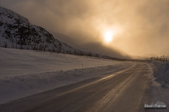Icy E10 (kevin-palmer) Tags: sweden europe arctic swedishlapland riksgransen march winter road highwaye10 evening sunset golden sunlight sun ice icy tamron2470mmf28 nikond750 windy clouds scandinavianmountains
