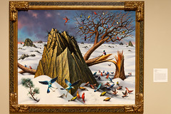 PeterBlume_Winter-41005.jpg (Mully410 * Images) Tags: birdwatching minneapolisinstituteofart birdsinflight winter artgallery museum bird birds gallery peterblume mia birding painting art