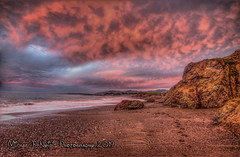 Cotton Candy Sky (Michael F. Nyiri) Tags: sansimeon california pink sky clouds rocks rockyshore northerncalifornia pacificocean colors