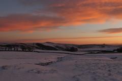 "Winnats Head Dawn ""Explored"" (Derbyshire Harrier) Tags: winter 2019 dawn sunrise glow snow derbyshire peakdistrict peakpark nationaltrust february whitepeak limestone karst greatridge winnatshead explore explored"