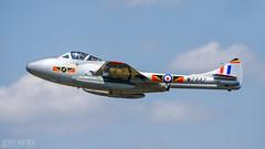 WZ447 | De Havilland Vampire T.55 (lee adcock) Tags: 2018 dehavillandvampiret55 friat lndhz riat t55 tamron150600g2 vampire wz447 airshow fairford nikond7200
