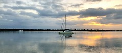 """Labrador Broadwater Qld (Bob Moss """"It's Another Day in Paradise"""") Tags: beach seaside ocean shore water landscape coast sea sky outdoor wave cloud tropical sand bright rock australia goldcoast queensland broadwater holiday vacation boats sail sailing"""