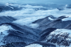 Balkan mountain (Ivaylo Madzharov) Tags: balkan mountain bulgaria landscape nature winter snow forest fog mist