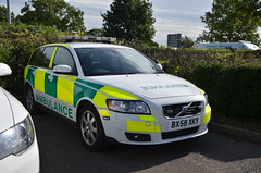 BX58 XKY (Emergency_Vehicles) Tags: bx58xky volvo ambulance rapid response vehicle rrv