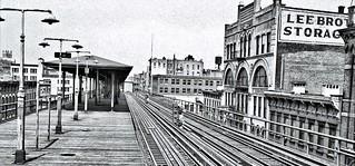 Ninth Avenue El, Manhattan, at 125th Street, June 3-5, 1940
