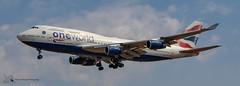 British Airways Boeing 747 (Thomas Wraight) Tags: photography canon canon7dii aviation aircraft flight jet airliner passengerairliner heathrow heathowairport londonheathrow egll london greaterlondon england greatbritian unitedkingdom europe britishairways ba 747 boeing747 b747400 widebody boeing