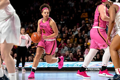 Destiny Pitts (3) handles the ball in a Gopher game against Penn State (Lorie Shaull) Tags: womensbasketball gophers gopherswomensbasketball goldengophers williamsarena minnesota basketball destinypitts