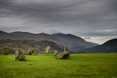 Mystical circle (Rico the noob) Tags: grass rock d850 lakedistrict 2470mm nature mountains outdoor hills 2470mmf28 clouds travel published dof rocks sky 2018 landscape stones uk mountain