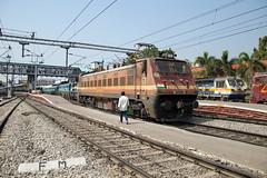 Indian Railways WAP-4 22663 Secunderabad Junction (daveymills37886) Tags: indian railways wap4 22663 secunderabad junction