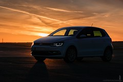 M o r n i n g   L i f e (Crofter's) Tags: winter shadows sky clouds lights coldweather early earlythemorning sun sunrays dawn februarydawn airfield car vw vwpolo tsi volkswagen vag led michelin snowtyres sony sonyaplha sony77ii sigma18300 sigma sonyalpha crofterspictures sigma18300mm polarized polarizing filter 2019 winter2019 february2019 morning dasauto carporn taxiway taxi