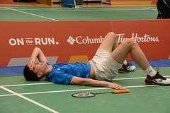 Kate Ruiz 2019 02 27 Badminton 090 (Kate in a Corner) Tags: badminton male injury alberta