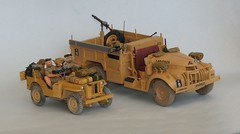 "British ""Desert Rats"" (S. Bathy) Tags: chevrolet 30 cwt british lrdg ww2 car truck auto vevicle sas jep willys"