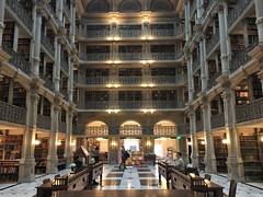 George Peabody Library (karma (Karen)) Tags: baltimore maryland peabodyinstitute musicconservatory library columns stacks mtvernon libraries johnshopkins iphone topf25