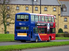 Go North East 6907 (LX06EBJ) - 06-03-19 (02) (peter_b2008) Tags: goaheadgroup gonortheast goaheadlondon londoncentral volvo b7tl wright eclipsegemini wvl258 6907 lx06ebj buses coaches transport buspictures