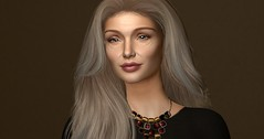 Happy International Women's Day (Sivyaleah (Elora)) Tags: genus project bento mesh mocap virtual second life sl avatar age old women mature wrinkles march champagne aurealis beauty glimmer lip skin fair 2019 hair stealthic fleeting ombres necklace legyo edith statement gold ruby