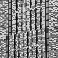 Anyone for Lego? (Joseph Pearson Images) Tags: building architecture abstract london theatlas square blackandwhite mono bw bricks