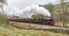 45596 Bahamas (LMSlad) Tags: kwvr keighley spring 45596 bahamas jubilee lms stanier 460 oxenhope