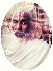 India series (Nick Kenrick.) Tags: tachmanlens ogfilm india guru hindu priest