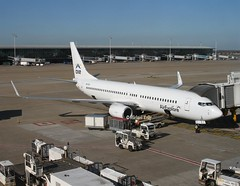 Air Explore                                            Boeing 737                                   OM-GEX (Flame1958) Tags: airexplore airexploreb737 boeing737 boeing b737 737 ryanair ebbr bru brusselsairport 240319 0319 2019 omgex eicsd 1529
