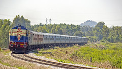 ALCo BEAUTY !! (sany20005) Tags: indianrailways railroad railways rails railwaystation railphoto maldatown maldatownwdg3a wdg3a alco alcolocomotive alcoloco alcophoto diesellocomotive diesel dieselloco diesellocomotives curve swr gradient photography canonphotography canon canoneos600d