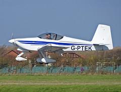 G-PTEK Vans RV-9A (SteveDHall) Tags: aircraft airport aviation airfield aerodrome gptek vans rv9a vansrv9a rv9 blackpool blackpoolairport ga generalaviation lightaircraft 2019 bpl blk egnh