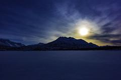 Alaska view (Yu Takada) Tags: alaska mountain sun blue lake snow ice