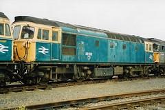 33102 4 100993 (stevenjeremy25) Tags: 33 331 brcw crompton bobo sulzer diesel engine loco locomotive br railway train type3 bagpipe 33102 southern