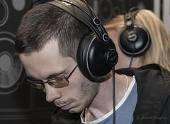 Headphones (Lyutik966) Tags: headphones exhibition namm crocusexpo sokolniki moscow russia man people musician music sound equipment portraitsshots