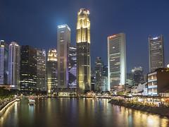Skyline Singapore (NavenV) Tags: singapore nightphoto nightphotography night river skyline skyscraper asia cityscape lightroom landscape cityview ngc