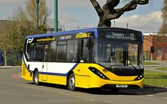 YW68DVV Johnsons Excelbus (martin 65) Tags: e200 enviro mmc wrightbus streetlight diamond johnson claribels solihull stourbridge warwickshire westmidlands west midland buses bus birmingham road transport public rotarla