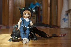 How To Train Your Dragon 14 (Mista-Oro) Tags: toy howtotrainyourdragon dragon dreamworks toothless fairyland ltf littlefee chiwoo bjd doll