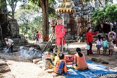 Phnom Banan Temple (3) (Lцdо\/іс) Tags: wat banan temple battambang phnom angkor cambodia cambodge kambodscha khmer countryside travel trip asia asian asie asiatique lцdоіс discover explore ruines voyage holiday