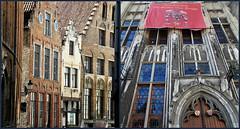 Maisons à Bruges, Belgium (claude lina) Tags: claudelina belgium belgique belgië bruges brugge liquidcity triennalebruges2018 maisons houses immeubles buildings architecture