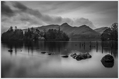 Boathouse at Derwent (nathian brook) Tags: lakedistrict longexposure blackandwhite bw mono waterscape