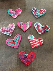 Valentines Art2019 (Mr. Happy Face - Peace :)) Tags: love craft macromondays theme valentine february art2019 closeup necklace