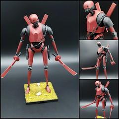 k2-ninja (ja_ja_wunderbar) Tags: starwars bandai ninja samurai k2so rogueone deadpool