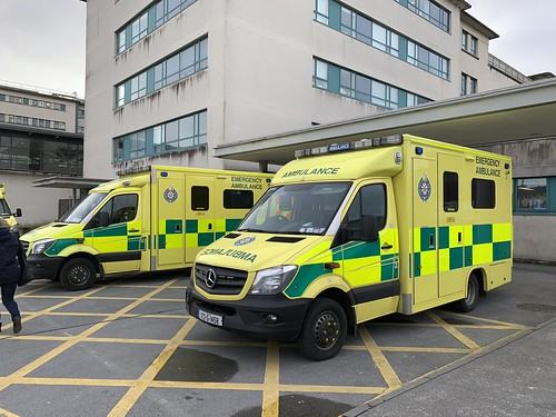 Irish National Ambulance Service Ambulance - Galway Regional