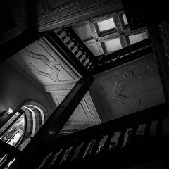 Newton House (evans.photo) Tags: abstract dark interior stairs oldhouse carmarthenshire newtonhouse