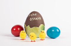 Easter eggs with Frohe Ostern text (wuestenigel) Tags: painted easter spring colorful season april decoration greeting froheostern banner egg happy eggs ostern ei noperson keineperson food lebensmittel candy süsigkeiten easteregg osterei chocolate schokolade disjunct disjunkt traditional traditionell delicious köstlich isolated isoliert nature natur bright hell chicken hähnchen health gesundheit fun spas confection konfekt sugar zucker color farbe nutrition ernährung 2019 2020 2021 2022 2023 2024 2025