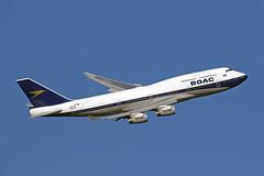 B747 400 (G-BYGC) British Airways (BOAC Retro Livery) (boeing-boy) Tags: mikeling boeingboy heathrow boac boacretrolivery britishairways gbygc