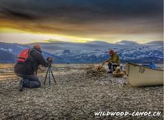 Me myself & l (stephanwoller) Tags: lake scheiz foto sonnenaufgang alpen alps swiss thunersee photoshop berge canon70d wasser opencanoe kanu see