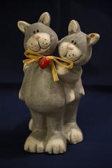 Friends (Rudi Pauwels) Tags: 2019onephotoeachday cats friends figure sweetcats